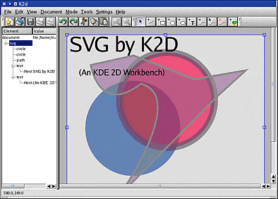 KDE 2D Workbench - K2D