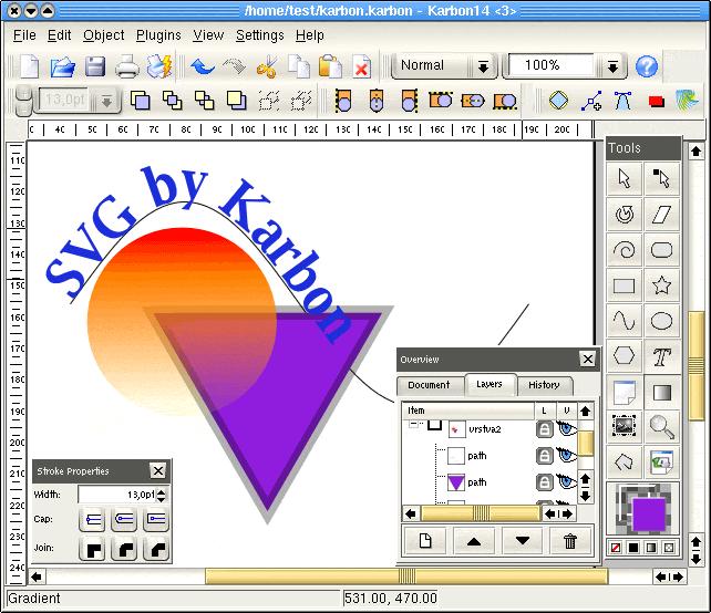 Průvodce SVG – aplikace pro ex...