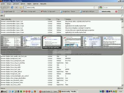 Zobrazení náhledu stránek ve Firefoxu 3.6