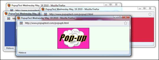 Pop-up okna
