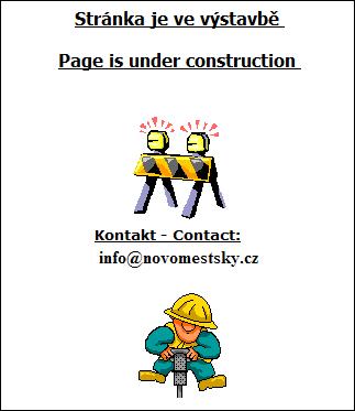 Stránka ve výstavbě
