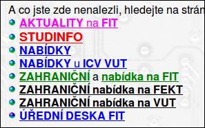 Barevné písmo