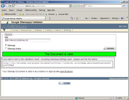 Google XML Sitemap Validator