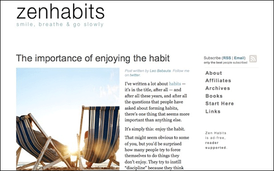 zenhabits.net