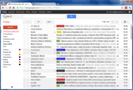 Screenshot - Gmail
