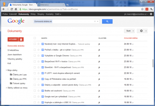 Screenshot - Google Docs