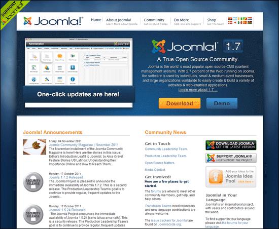 Redakční systém Joomla!