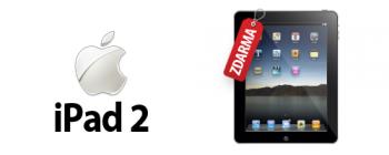 iPad 2  zdarma