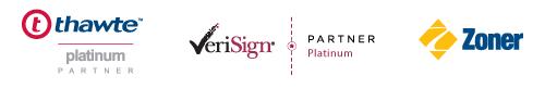 ZONER SSL Platinum Partner