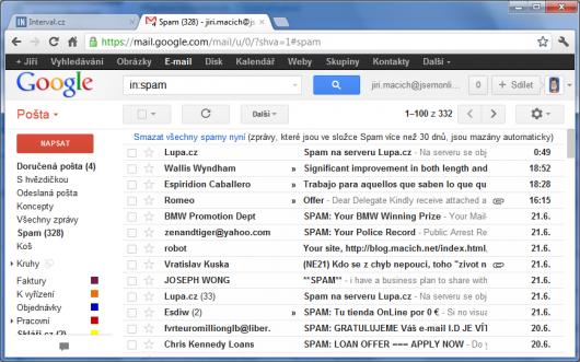 Nevyžádané e-maily