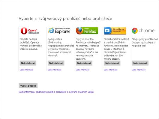 Ballot screen ve Windows 8