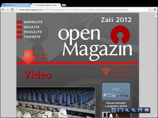 Google Chrome 21 pro Metro (PDF Viewer)