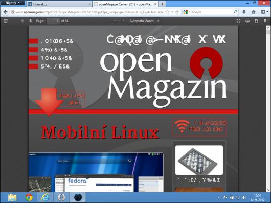 Firefox Nightly (PDF Viewer)