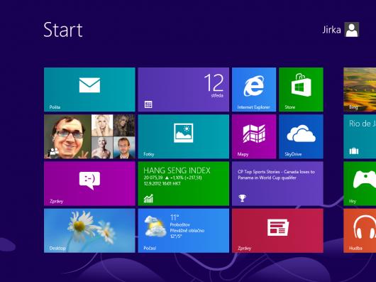 Windows 8 - prostředí Metro