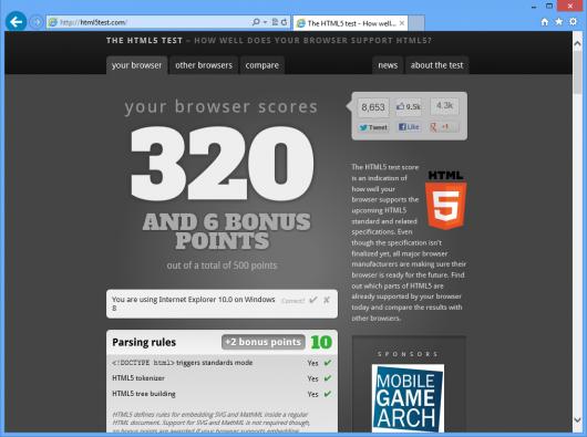 Internet Explorer 10