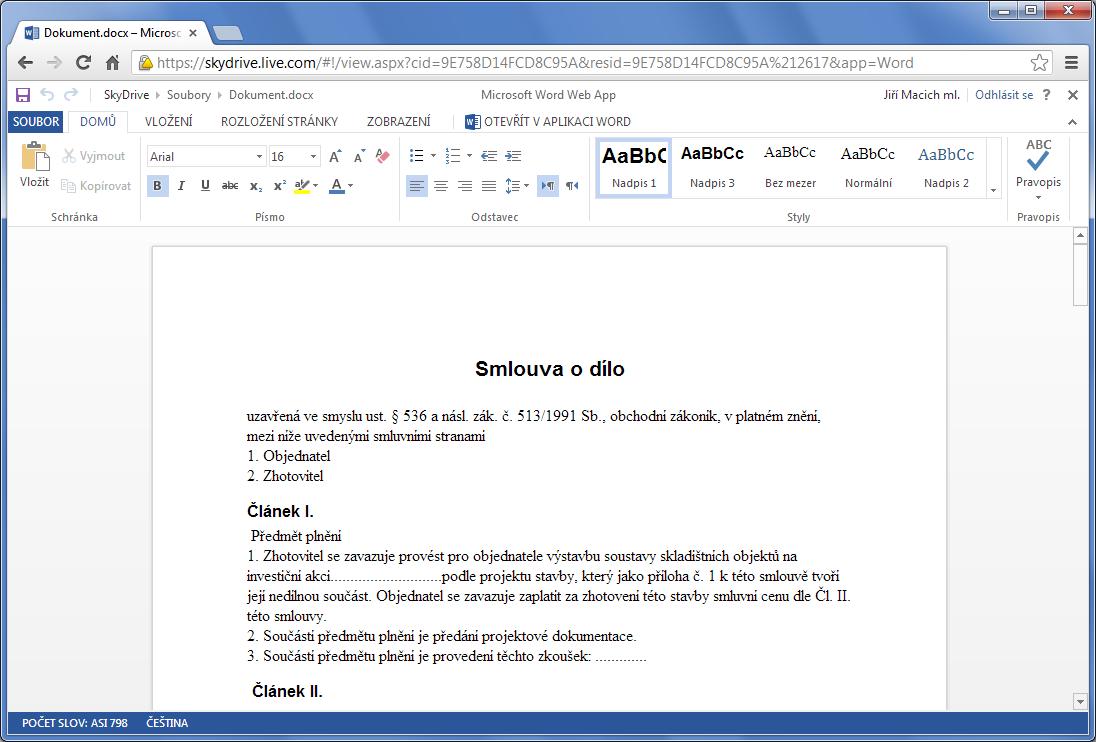 Cloudova kancelar google vs microsoft intervalcz for Google docs word 2013