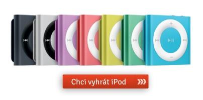 Vyhraj zdarma iPod