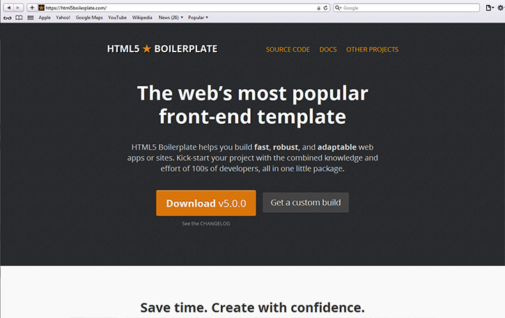 html5boilerplate