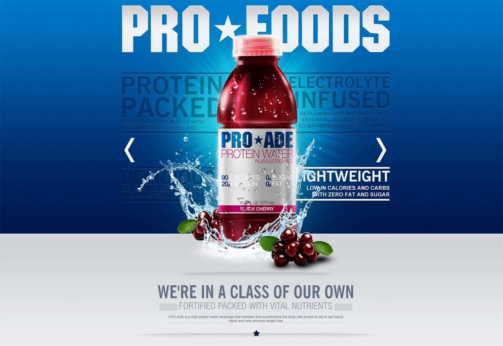 pro-foods website