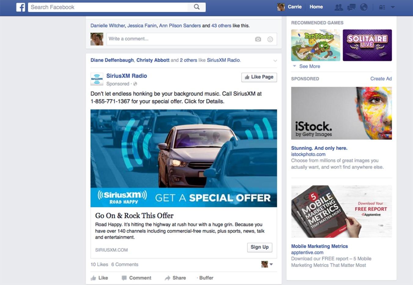 personalizace-facebook-ads