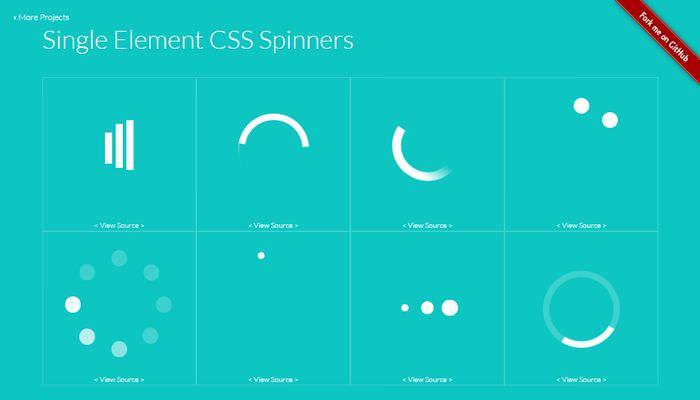 CSS sprinner