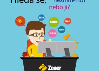 hledá se webmaster