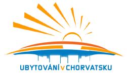 ubytování v chorvatsku logo